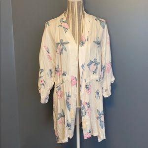 Revolve MINKPINK Floral Kimono Robe M/L